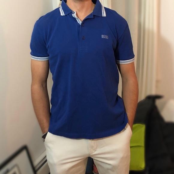 0b520183 Hugo Boss Shirts | Royal Blue Polo | Poshmark